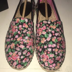 NWT Coach Espadrille Slip On Floral shoes